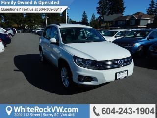 Used 2017 Volkswagen Tiguan Wolfsburg Edition BC Driven, Heated Front Seats, Radio Data System & Rear View Camera for sale in Surrey, BC
