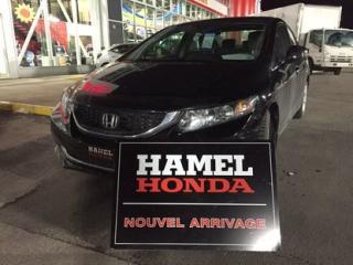Used 2013 Honda Civic LX for sale in Saint-eustache, QC