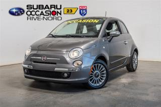 Used 2012 Fiat 500 Lounge for sale in Boisbriand, QC