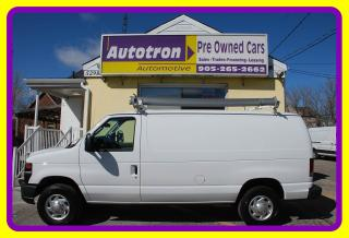Used 2012 Ford E350 1 Ton Econoline Cargo Van, A/C, Roof Rack for sale in Woodbridge, ON