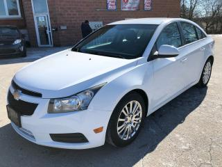 Used 2011 Chevrolet Cruze 1.4L/TURBO/6 SPEED/ONE OWNER/NO ACCIDENT/CERTIFIED for sale in Cambridge, ON