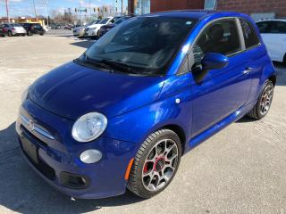 Used 2012 Fiat 500 Sport/CERTIFIED/WARRANTY INCLUDED for sale in Cambridge, ON