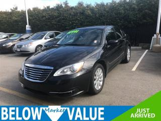 Used 2013 Chrysler 200 Touring**HEATED SEATS**ALLOY WHEELS**A/C** for sale in Surrey, BC