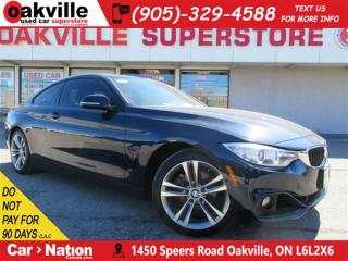Used 2014 BMW 428i xDrive | LEATHER | SUNROOF | NAV | B/U CAM for sale in Oakville, ON