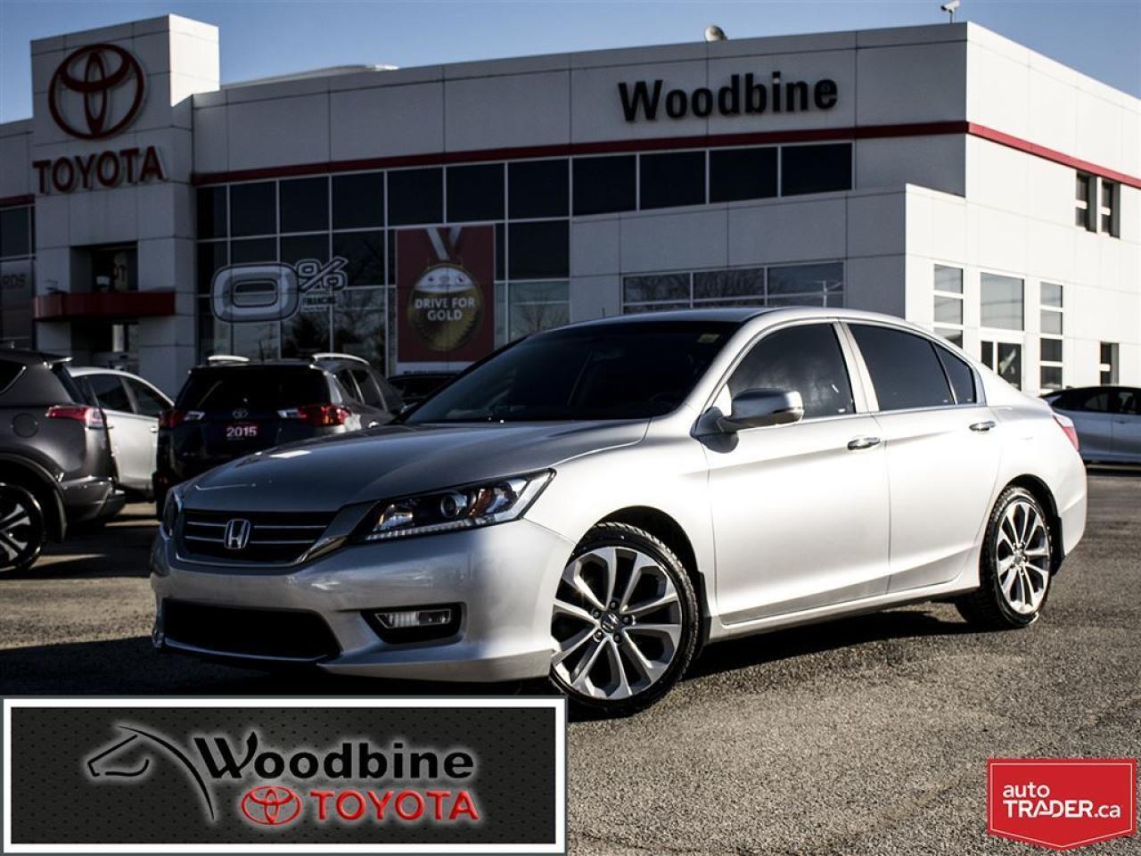 2013 Honda Accord SPORT, BLUE TOOTH, BACK UP CAMERA!