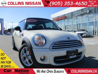 Used 2012 MINI Cooper Classic ALLOYS | HTD SEATS | FOG LIGHTS |  SPORTY | for sale in St Catharines, ON