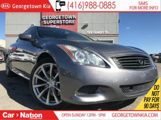 Used 2010 Infiniti G37 SPORT | COUP| SUNROOF | CAM | LEATHER| BOSE for sale in Georgetown, ON