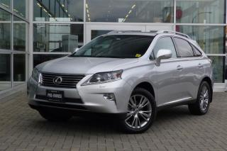 Used 2014 Lexus RX 350 6A **Technology Package** for sale in Vancouver, BC
