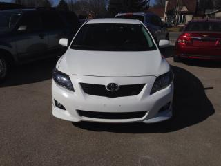 Used 2009 Toyota Corolla S for sale in St Jacobs, ON