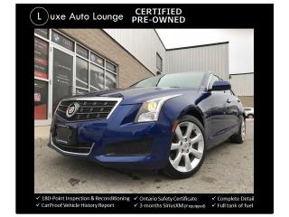 Used 2014 Cadillac ATS TURBO 6SPD! LEATHER HEATED SEATS, BOSE AUDIO! for sale in Orleans, ON