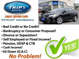 Used 2016 Toyota Camry LE for sale in Brantford, ON