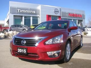 Used 2015 Nissan Altima 2.5 SV for sale in Timmins, ON