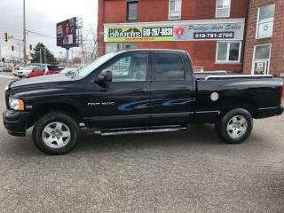 Used 2005 Dodge Ram 1500 5.7/ HEMI/4X4/ONE OWNER/NO ACCIDENT/CERTIFIED/WARR for sale in Cambridge, ON