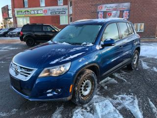 Used 2010 Volkswagen Tiguan 4Motion/NO ACCIDENT/CERTIFIED/WARRANTY INCLUDED for sale in Cambridge, ON