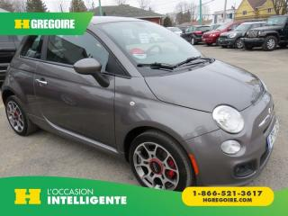Used 2013 Fiat 500 SPORT MAN A/C MAGS for sale in St-Léonard, QC