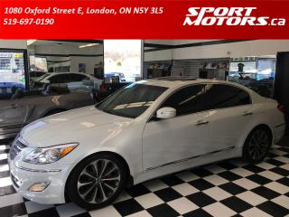 Used 2012 Hyundai Genesis R-Spec! New Tires & Brakes! Xenons! NAVI! Xenons! for sale in London, ON