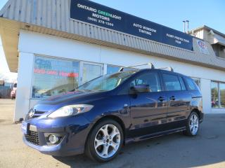Used 2008 Mazda MAZDA5 GT AUTOMATIC,SUNROOF,ALLOYS,FOG LIGHTS,ALL POWERED for sale in Mississauga, ON
