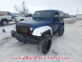Used 2010 Jeep WRANGLER SAHARA 2D UTILITY 4WD 3.8L for sale in Calgary, AB