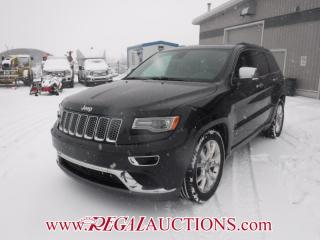 Used 2014 Jeep GRAND CHEROKEE SUMMIT 4D UTILITY 4WD 5.7L for sale in Calgary, AB