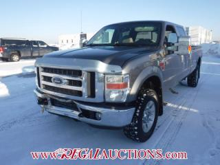 Used 2008 Ford F350SD LARIAT CREW CAB 4WD 6.4L for sale in Calgary, AB