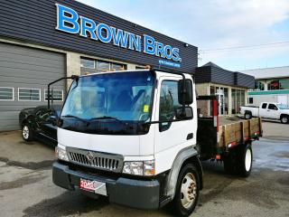 Used 2008 International CF500 FLAT DECK for sale in Surrey, BC