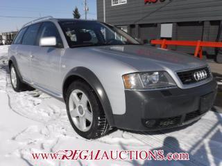 Used 2004 Audi ALLROAD  4D WAGON QUATTRO for sale in Calgary, AB