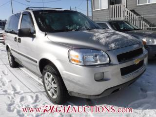 Used 2005 Chevrolet UPLANDER BASE 4D WAGON for sale in Calgary, AB