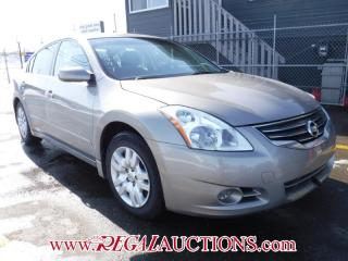 Used 2012 Nissan ALTIMA S 4D SEDAN 2.5 for sale in Calgary, AB