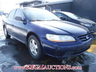 Used 2002 Honda ACCORD EX 4D SEDAN V6 for sale in Calgary, AB