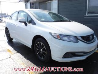 Used 2013 Honda CIVIC LX 4D SEDAN AT for sale in Calgary, AB