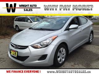 Used 2013 Hyundai Elantra L|87,667 kms for sale in Cambridge, ON