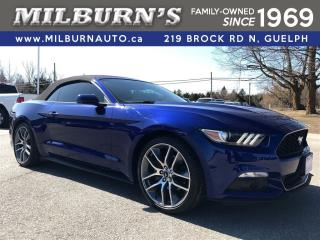 Used 2016 Ford Mustang EcoBoost Premium for sale in Guelph, ON