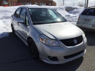 Used 2008 Suzuki SX4 SPORT Auto, A/C, power windows and locks for sale in Hornby, ON
