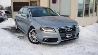 Used 2011 Audi A4 Premium Plus S-Line for sale in Kitchener, ON