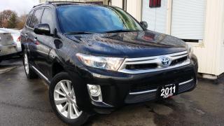 Used 2011 Toyota Highlander HYBRID Hybrid for sale in Kitchener, ON