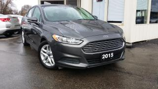 Used 2015 Ford Fusion SE for sale in Kitchener, ON