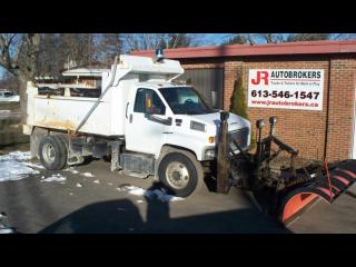 Used 2006 GMC Topkick 8500 Dump with Plow!!! for sale in Elginburg, ON