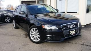 Used 2012 Audi A4 Premium for sale in Kitchener, ON