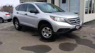 Used 2012 Honda CR-V LX 4WD 5-Speed AT for sale in Kitchener, ON