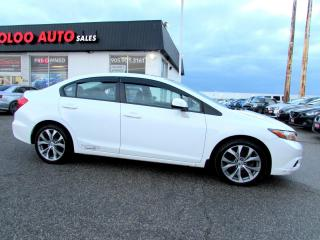 Used 2012 Honda Civic Si Sedan Manual Navigation Certified 2YR Warranty for sale in Milton, ON