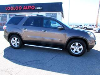 Used 2009 GMC Acadia SLE-1 AWD 7 Passenger CERTIFIED 2YR WARRANTY for sale in Milton, ON