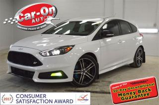 Used 2015 Ford Focus ST LEATHER HTD SEATS REAR CAM ALLOYS LOADED for sale in Ottawa, ON