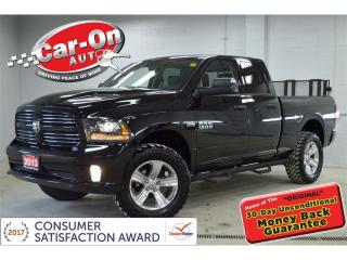 Used 2013 RAM 1500 Sport 4x4 LEATHER HTD SEATS ONLY 48,000 KM for sale in Ottawa, ON
