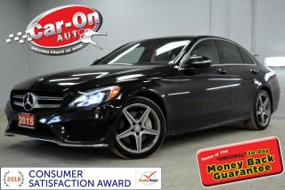Used 2015 Mercedes-Benz C-Class C400 4MATIC LEATHER PANO ROOF for sale in Ottawa, ON