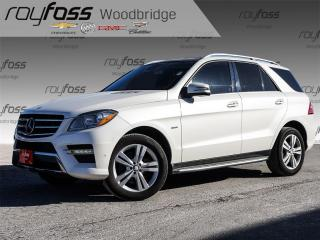 Used 2012 Mercedes-Benz ML-Class ML 350 BlueTEC NAVI, HK SOUND, PANORAMIC ROOF for sale in Woodbridge, ON