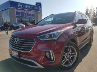 Used 2017 Hyundai Santa Fe XL Limited-Navi/Leather and Sunroof for sale in Mississauga, ON