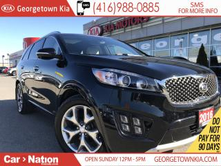 Used 2016 Kia Sorento SX+ WHITE LEATHER| NAVI| 360 CAM| PANO ROOF for sale in Georgetown, ON