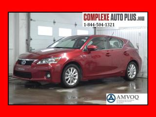 Used 2012 Lexus CT 200h Hybride Cuir,mags for sale in Saint-jerome, QC