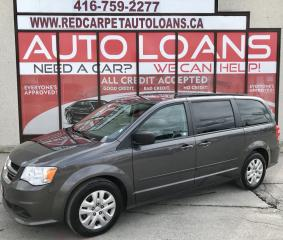 Used 2016 Dodge Grand Caravan SE/SXT SXT-ALL CREDIT ACCEPTED for sale in Scarborough, ON