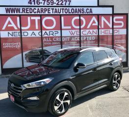 Used 2016 Hyundai Tucson Premium 1.6 PREMIUM-ALL CREDIT ACCEPTED for sale in Scarborough, ON